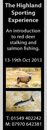 Sallachy Stalking/Salmon Fishing Course