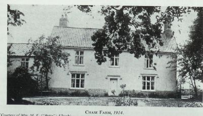 chase farm in 1914