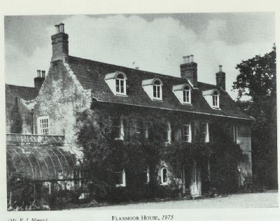 flaxmoor house in 1975
